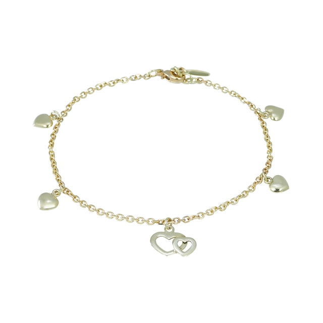 YELLOW GOLD BRACELET - WOMEN'S BRACELETS - FINE JEWELLERY