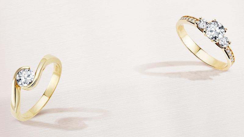 Klenota Verlobungs Und Eheringe Ohrringe Und Perlen