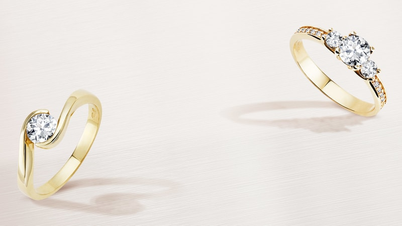 KLENOTA Engagement And Wedding Rings Earrings And Pearls - Carrelage terrasse et harlequin tapis de danse