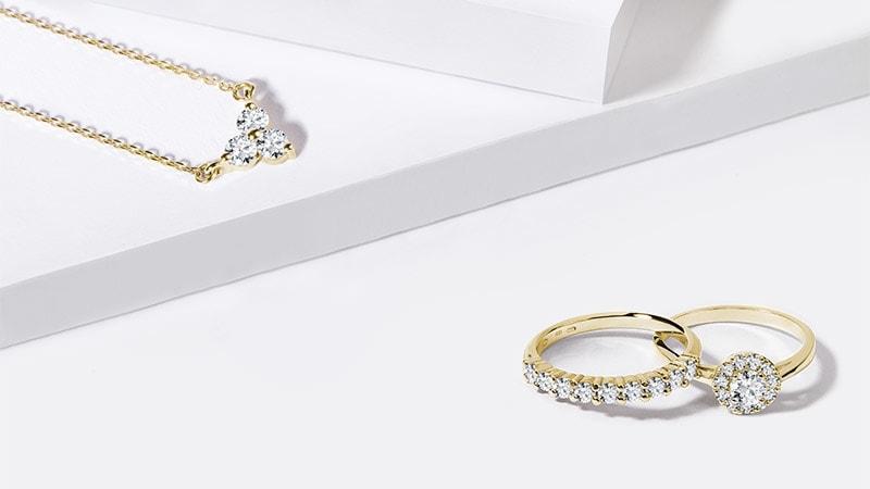 Diamantové šperky Prekvapte so žiarivými diamantmi POZRIEŤ fb7ec62caea
