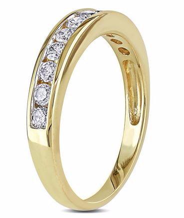 klenota ehering mit diamant 14k gold trauringe diamanten. Black Bedroom Furniture Sets. Home Design Ideas