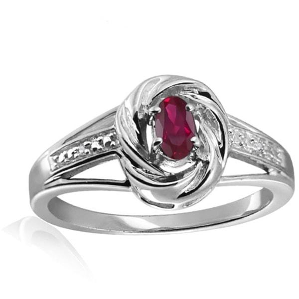 klenota ring mit einem rubin und brillanten ringe rubin. Black Bedroom Furniture Sets. Home Design Ideas