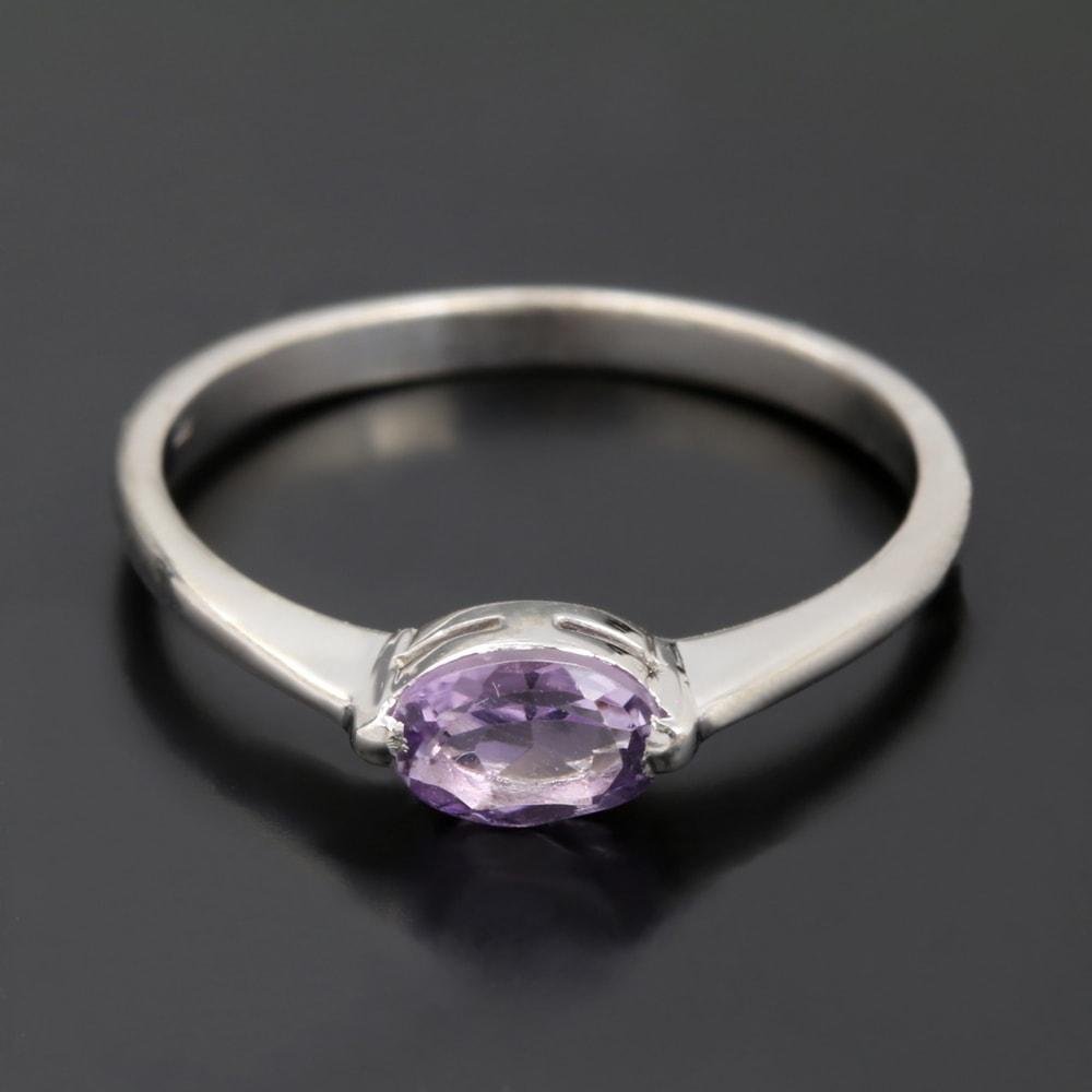 klenota gold ring mit amethyst ringe wei gold. Black Bedroom Furniture Sets. Home Design Ideas