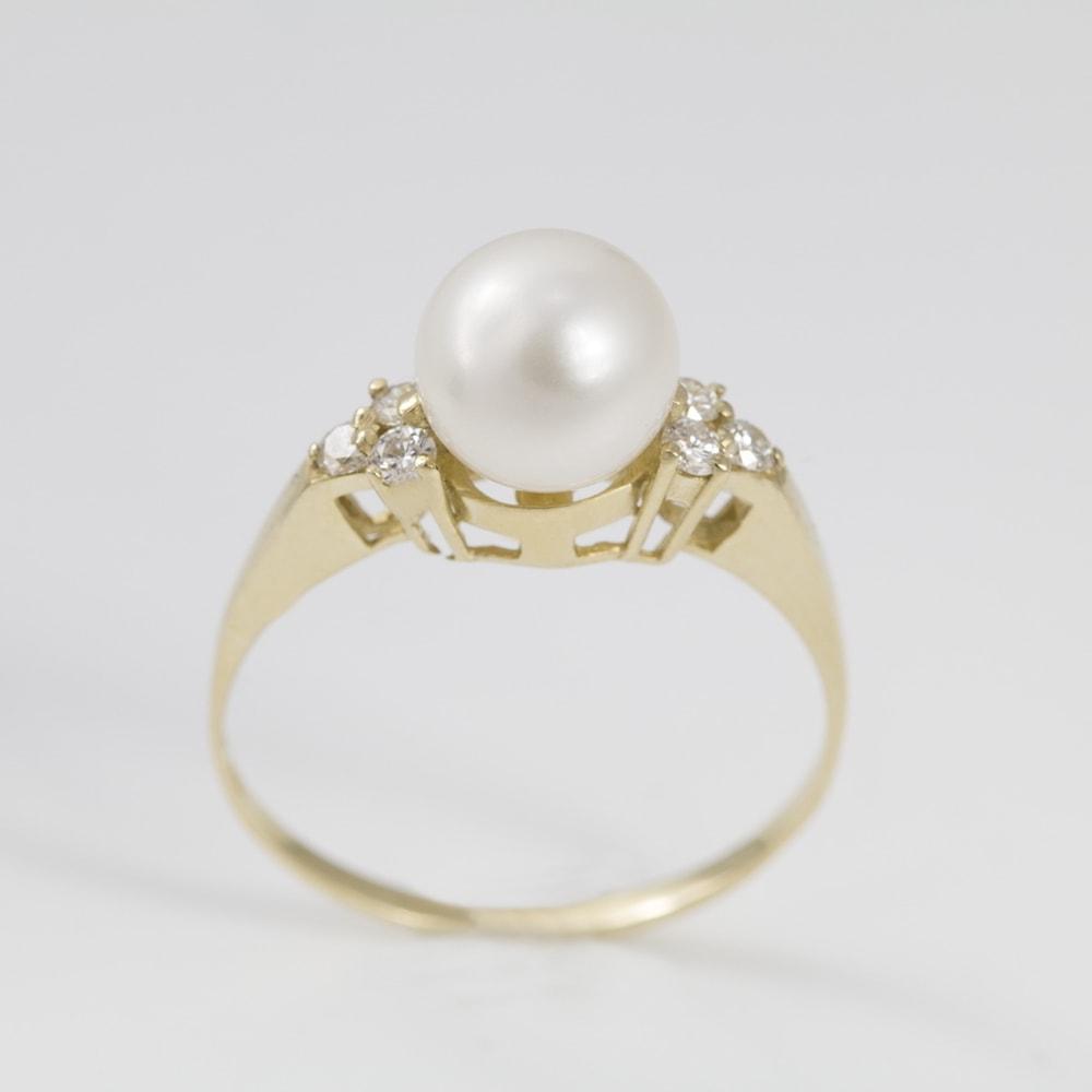 klenota bague avec perle et diamants bagues en perles bijoux en ligne. Black Bedroom Furniture Sets. Home Design Ideas