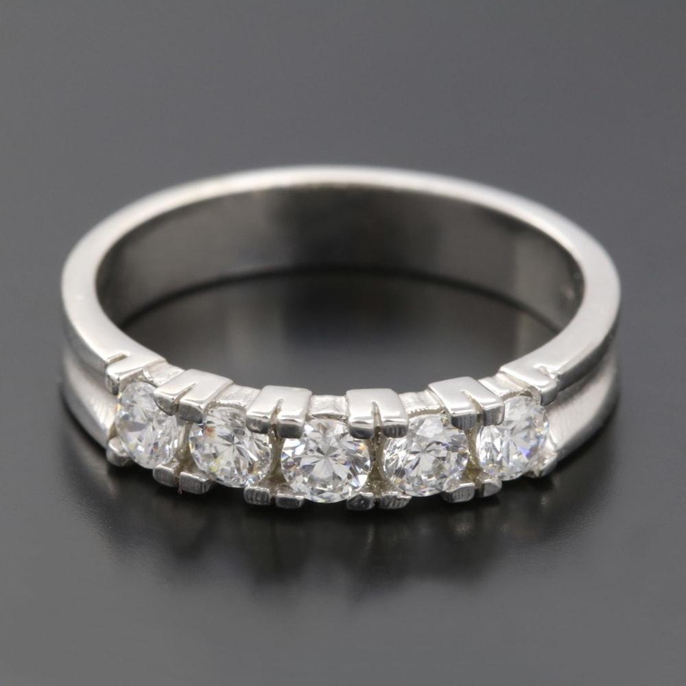 klenota bague en or avec cinq diamants bagues en diamant bijoux en ligne. Black Bedroom Furniture Sets. Home Design Ideas
