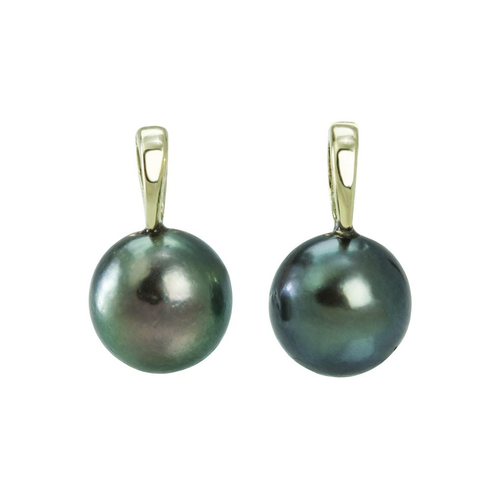 klenota boucles d 39 oreilles en or avec perle de tahiti soldes bijoux bijoux en ligne. Black Bedroom Furniture Sets. Home Design Ideas