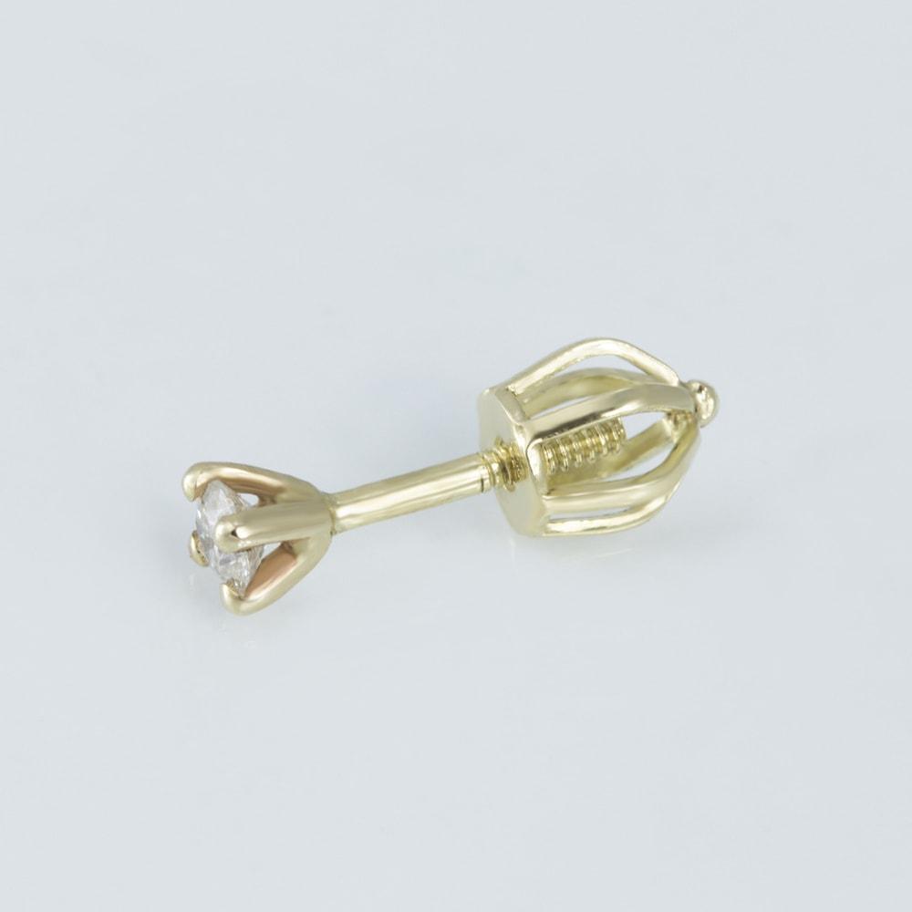 klenota goldohrringe mit diamanten ohrringe gelbgold. Black Bedroom Furniture Sets. Home Design Ideas