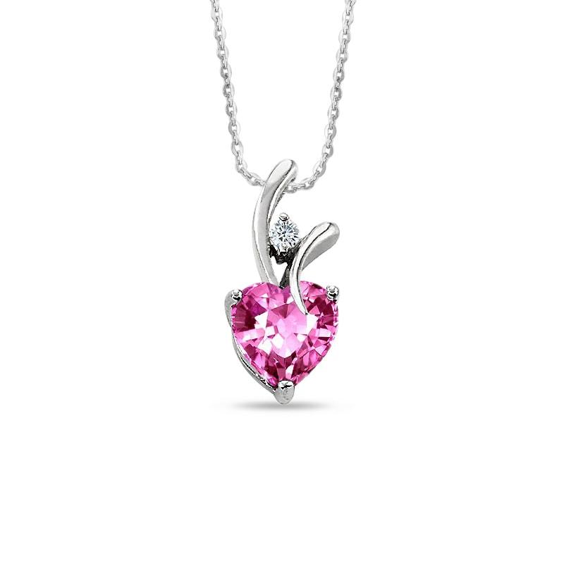 0d9215751 KLENOTA | Přívěsek s růžovým safírem | Šperky | Šperky Online