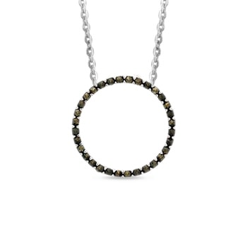 klenota cha ne en argent avec pendentif cercle en marcassites soldes bijoux bijoux en ligne. Black Bedroom Furniture Sets. Home Design Ideas