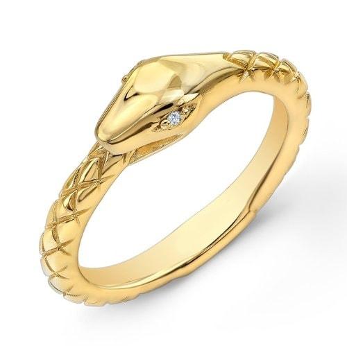 klenota vergoldeter silberring mit diamanten ringe diamant. Black Bedroom Furniture Sets. Home Design Ideas